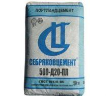 Цемент ПЦ-500 Д20 Себряково