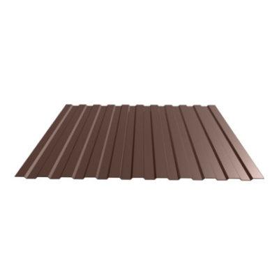 Профнастил С-8 1150 коричневый