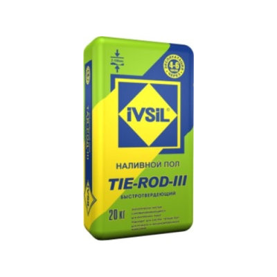 Наливной пол IVSIL TIE-ROD-III