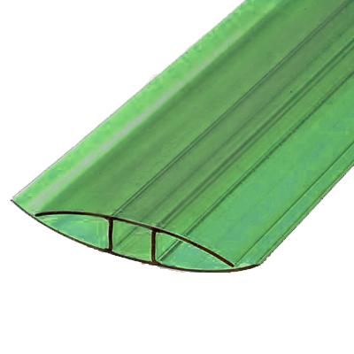 Профиль соеденительный неразборный ПСН зеленый