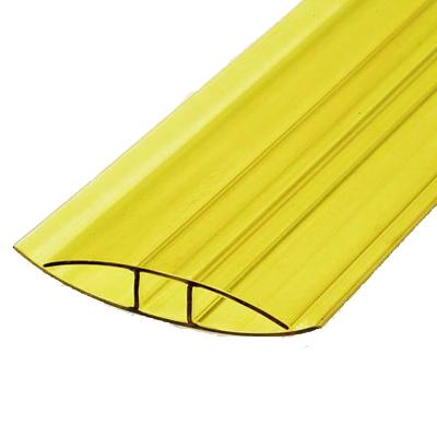 Профиль соеденительный неразборный ПСН желтый