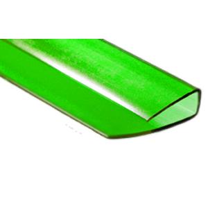 Профиль торцевой зеленый