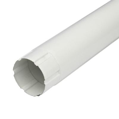 Труба водосточная D100*2000 (ПЛД-02-9010-0,5) белая