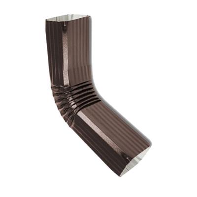 Колено трубы 76*102 (ПЛ-02-8017-ОН) коричневое