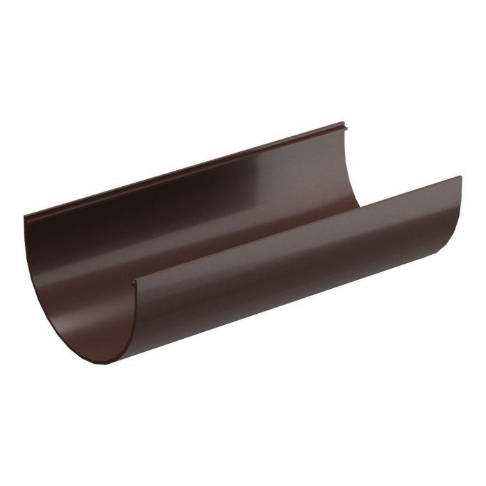 Желоб водосточный (шоколад) пластиковый