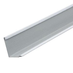 Уголок белый сталь