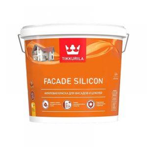 Краска Тиккурила FASAD SILICON 2,7л