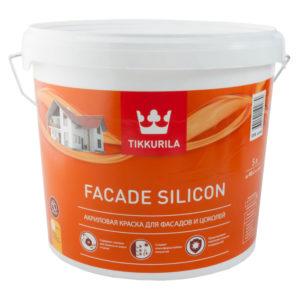 Краска Тиккурила FASAD SILICON 5л