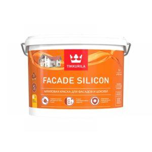 Краска Тиккурила FASAD SILICON 9л