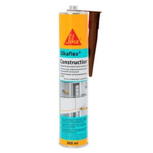 Герметик полиуретановый Sikaflex Construction+ коричневый