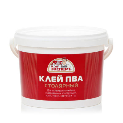 Клей ПВА столярный ЭКСПЕРТ 2,1кг
