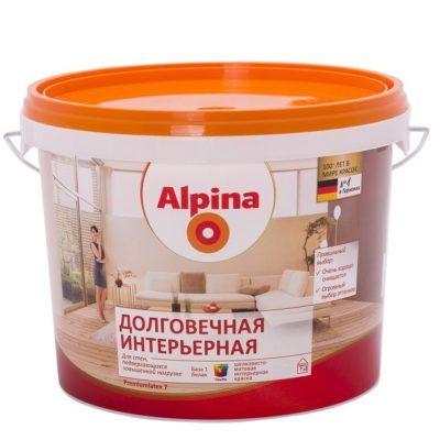 Краска Alpina Долговечная интерьерная
