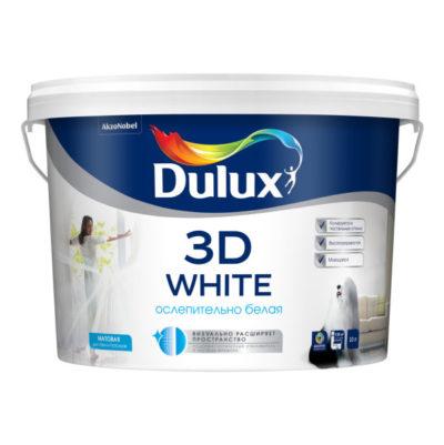 Краска Dulux 3D White 10л
