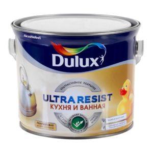 Краска Dulux Ultra Resist Кухня и Ванна
