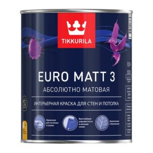 Краска EURO MATT 3 0,9л