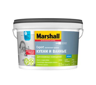 Краска Marsall для кухни и ванной