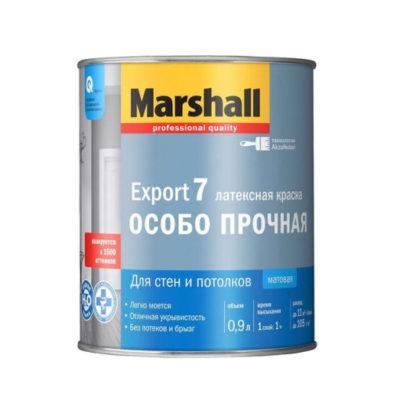 Краска Маршал Экспорт-7 0,9л