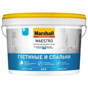 Краска Marshall Maestro Интерьерная Фантазия
