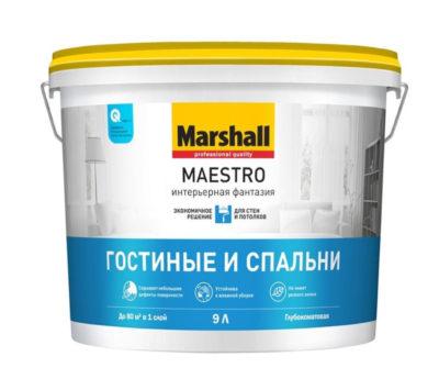 Краска Marshall Maestro Интерьерная Фантазия 9 л