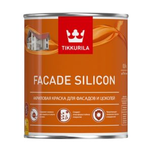 Краска Тиккурила FASAD SILICON 0,9л