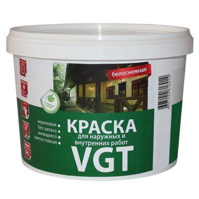 Краска белоснежная ВД-АК 1180