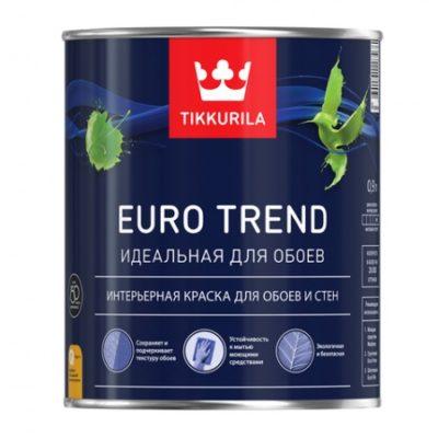 Краска для обоев и стен EURO TREND C 0,9 л