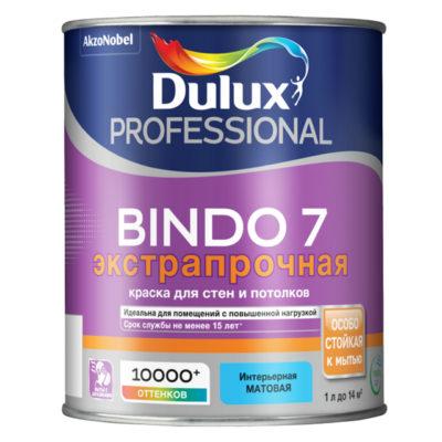 Краска для стен и пот. мат. BW Dulux Professional Bindo 7 1л