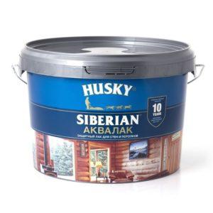 Лак HUSKY Siberian бесцветный 2,5л