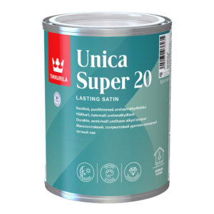 Лак UNICA супер полуматовый 0,9л