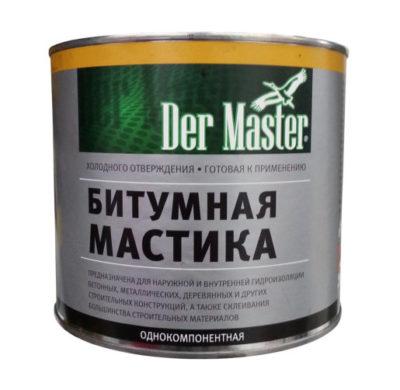 Мастика битумная Der Master