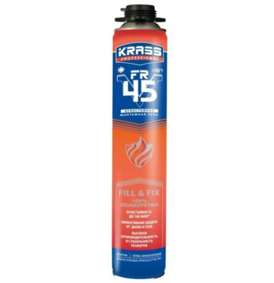 Пена огнестойкая KRASS Professional FR V45