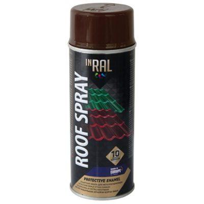 Эмаль INRAL ROOF SPRAY шоколадная