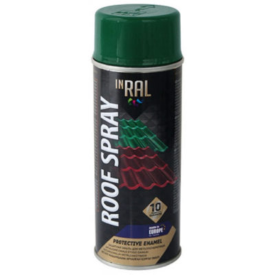 Эмаль INRAL ROOF SPRAY зеленый мох