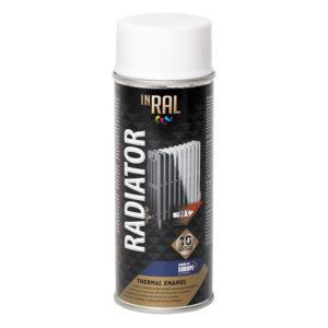 Эмаль аэрозольная RADIATOR белая
