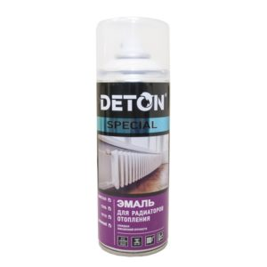 Эмаль аэрозольная для радиаторов DETON Special