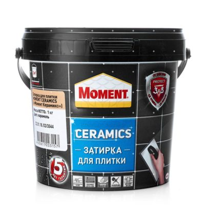Затирка Момент Ceramics карамель