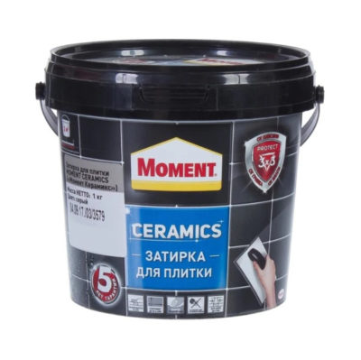 Затирка Момент Ceramics серый