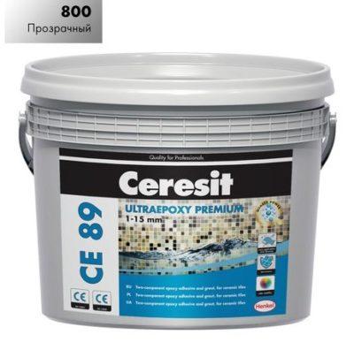 Затирка СЕ89 Ceresit 800