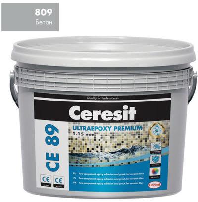 Затирка СЕ89 Ceresit 809