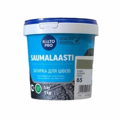 Затирка для швов Kesto 65 зеленый1 кг