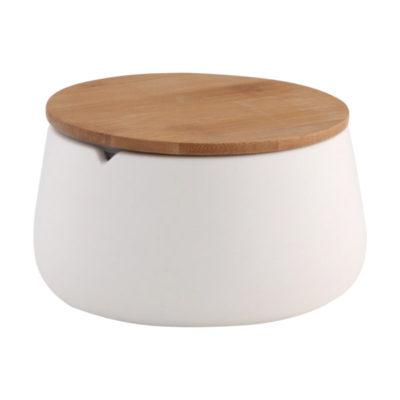 Емкость AXENTIA Bonja Wellness для хранения из белой керамики 128211