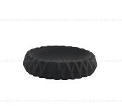 Мыльница AXENTIA Chicago из черной керамики круглая 128184