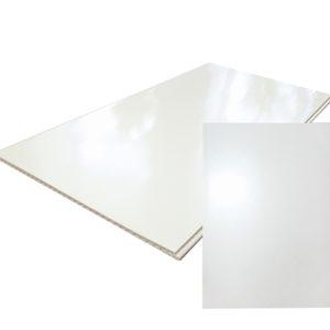 Панель ПВХ Лакированные белые