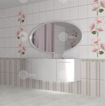 Панели ПВХ Камила розовая