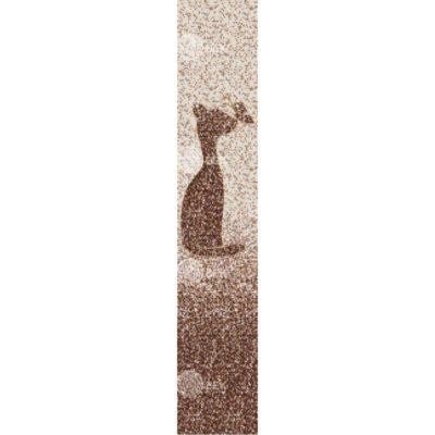 Панели ПВХ Мозаика коричневая Кошка