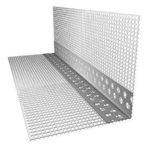 Профиль ПВХ штукатурный для угла с сеткой