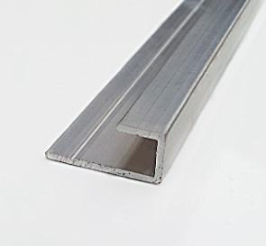 Профиль торцевой алюминиевый