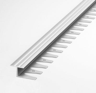 Уголок 2,5м (гибкий) алюминий РП-АКП-21